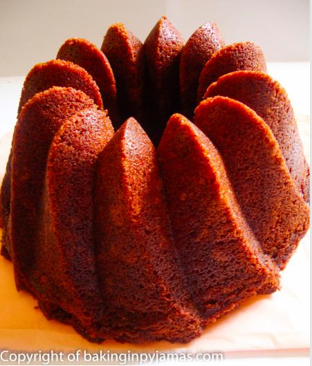 Caramel Salted Bundt Cake