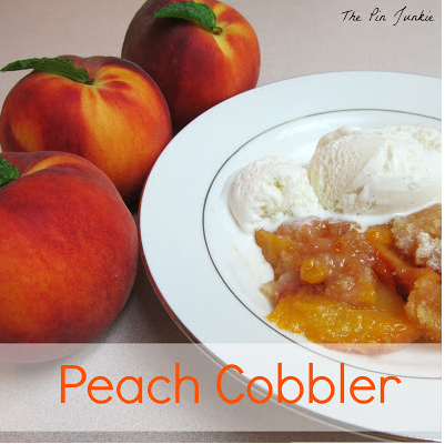 Peach Cobble from The Pin Junkie