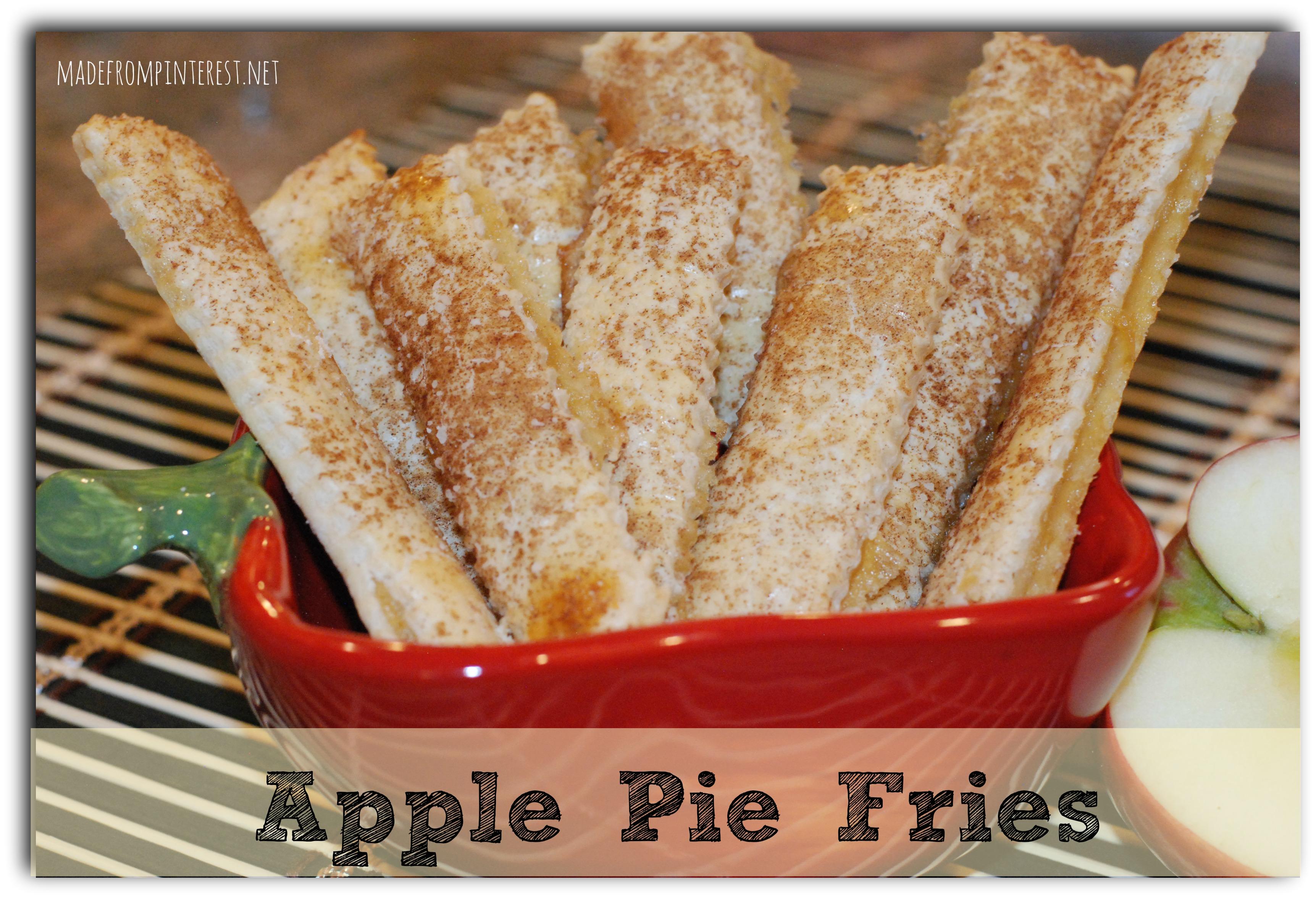Apple Pie Fries - TGIF - This Grandma is Fun