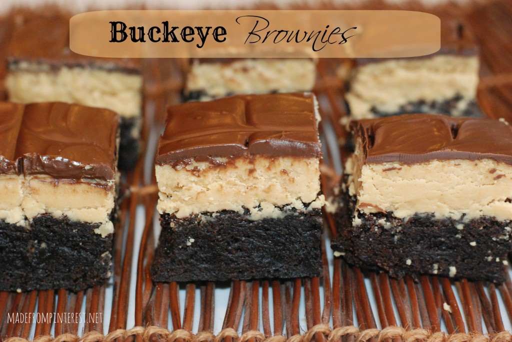 Buckeye Brownies. madefrompinterest.net