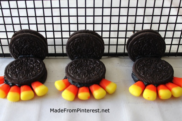 Oreo Turkeys   assembly