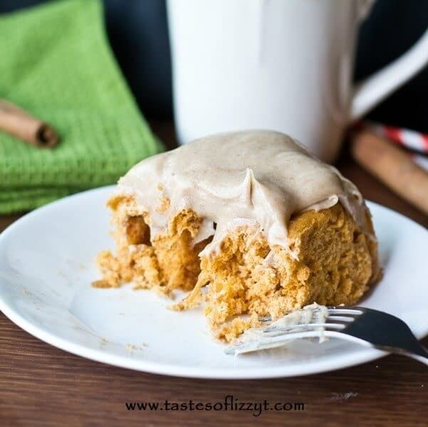 These Pumpkin Pudding Rolls are a special cinnamon roll version that uses Pumpkin Spice Instant Pudding in the dough for super soft cinnamon rolls!