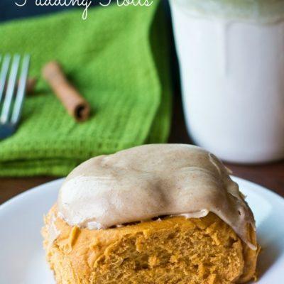 Pumpkin Pudding Rolls