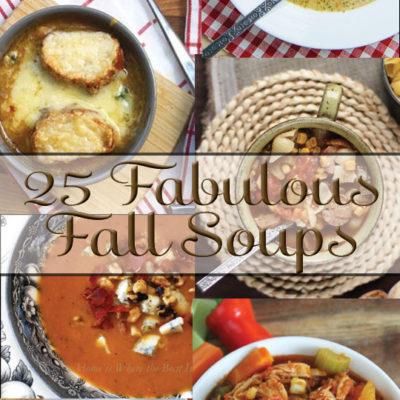 25 Fabulous Fall Soups