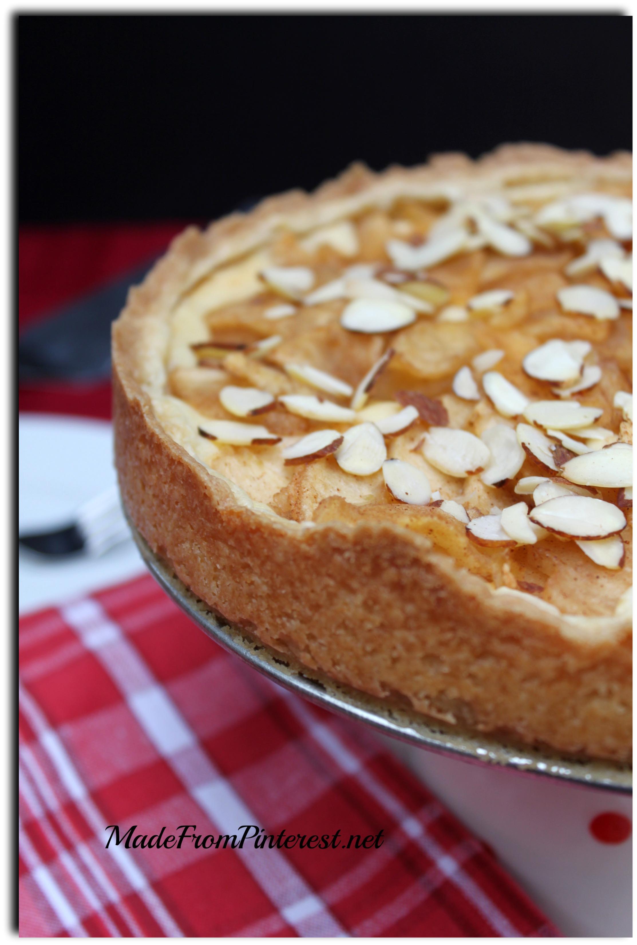 Bavarian Apple Torte - Made From Pinterest