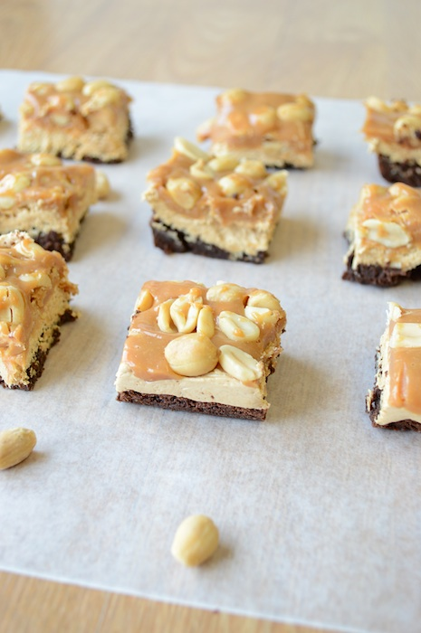 Brownie-Snickers-Bites