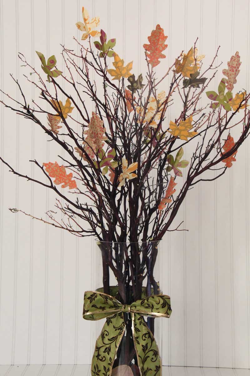 DIY Thankful Tree - This was inexpensive and quick to make. I love how it turned out!