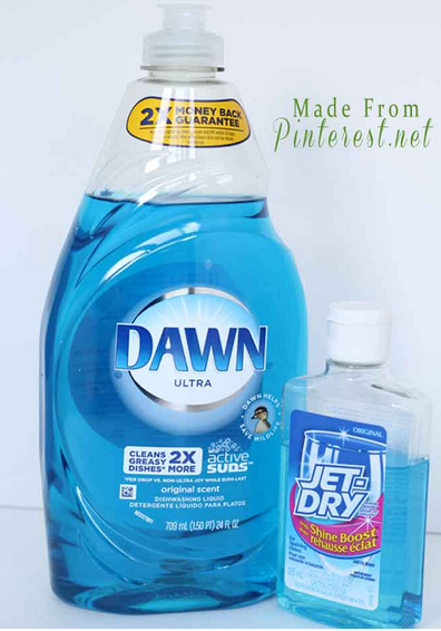 Best cleaning tips on pinterest made from pinterest - Best way to clean windows ...