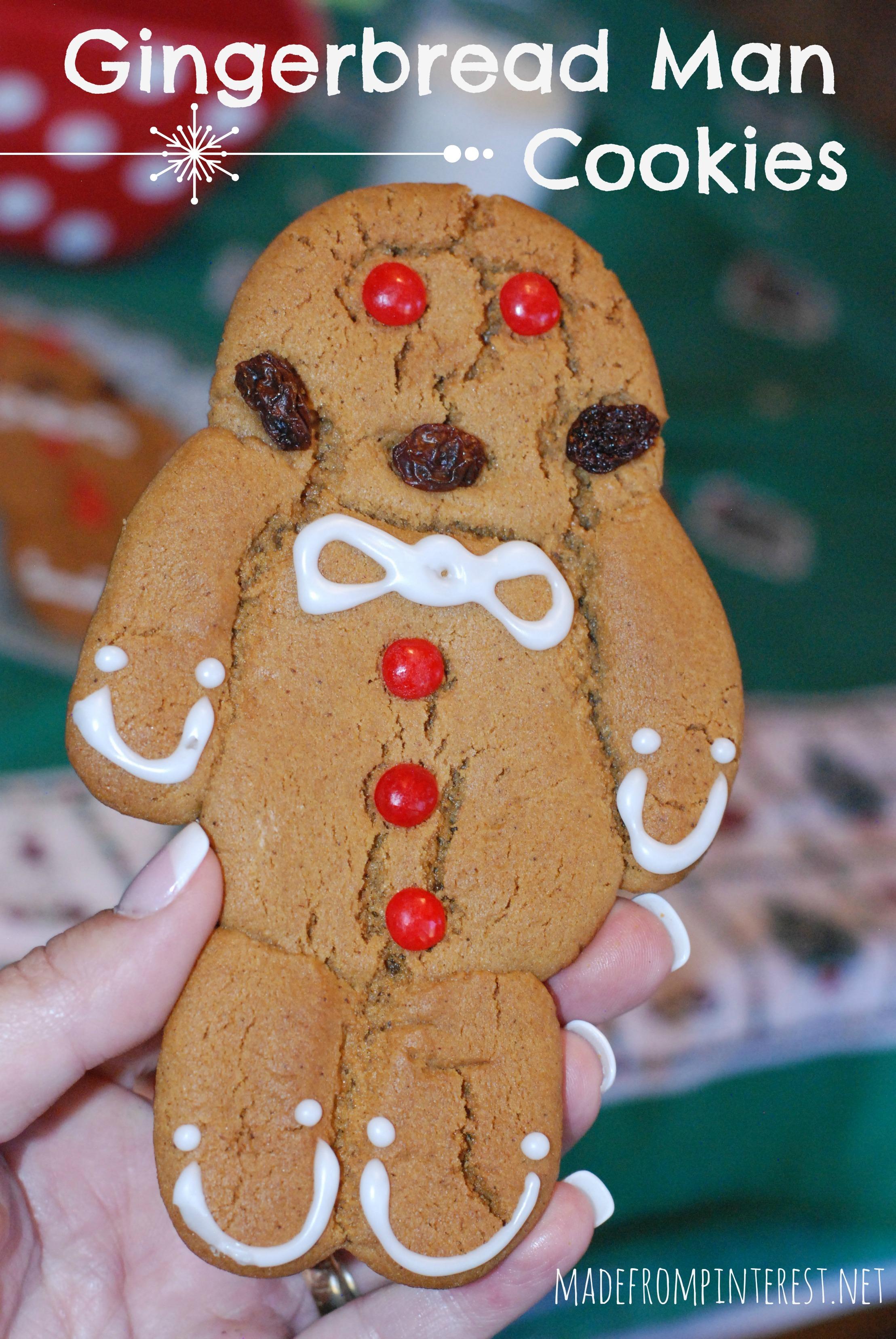 Gingerbread Man Cookies - TGIF - This Grandma is Fun