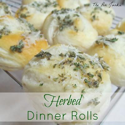 herbed dinner rolls