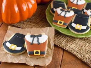 thanksgiving-cookies-pilgrim-title - Fav