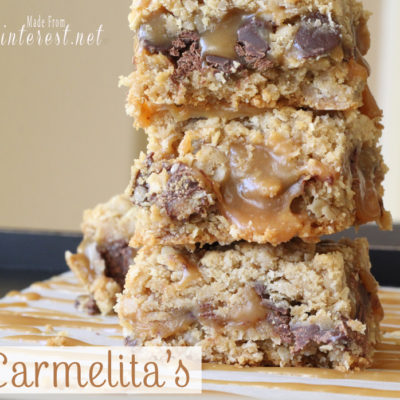 Carmelita's - These are one of the best dessert recipes on Pinterest! They are AMAZING! #Recipes #Dessert #Caramel
