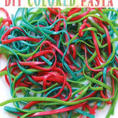 Homemade Colored Pasta