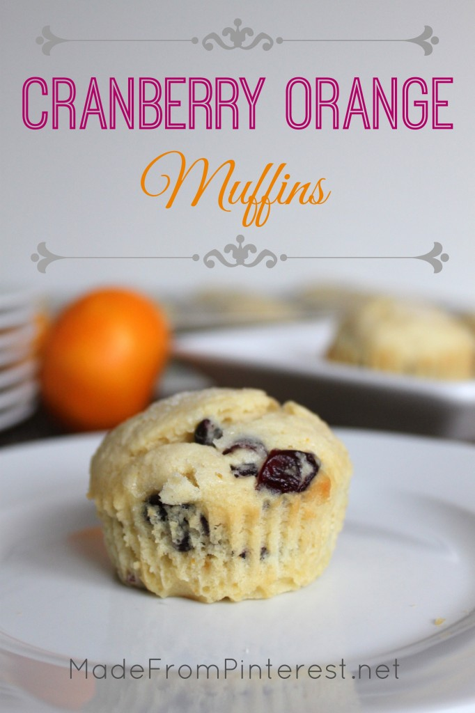 Cranberry Orange Muffins - buttermilk makes them tender, a sprinkle of sugar makes the top crunchy and sweet.
