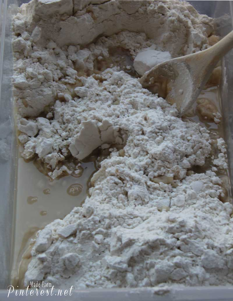Cloud Dough - 2 ingredients that make a light, fluffy, moldable dough that will keep your kids occupied for hours! #Kids Activity #Kids