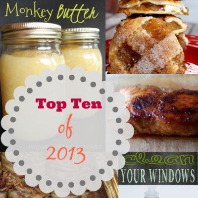 Top Ten of 2013