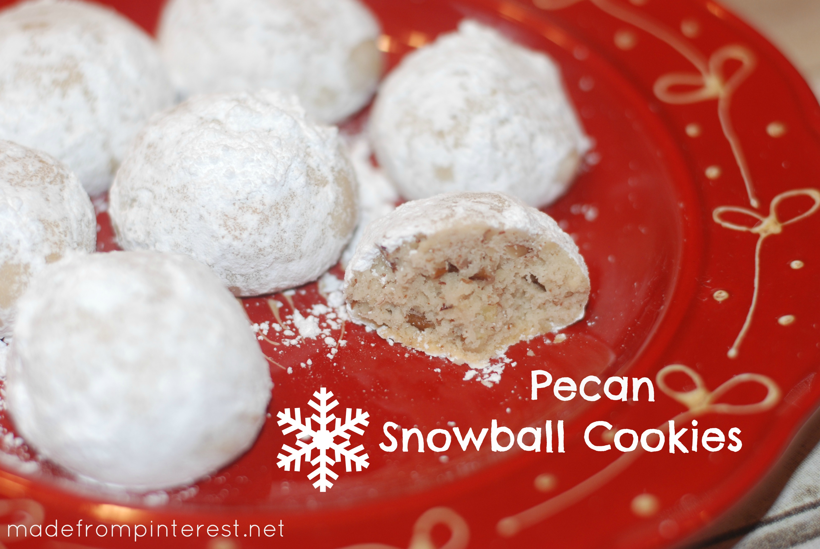 you call them, these Snowball Cookies are a classic traditional cookie ...