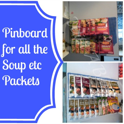 Soup-Packets-Pinboard