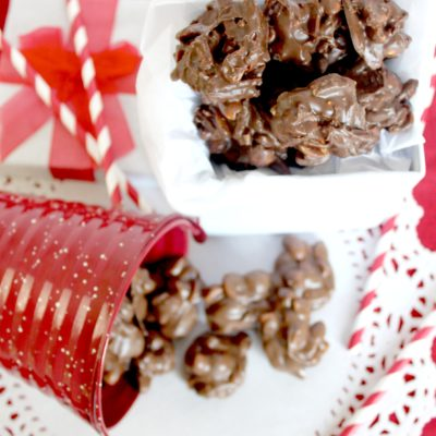 Chocolate or Chocolate Butterscotch Crock Pot Candy