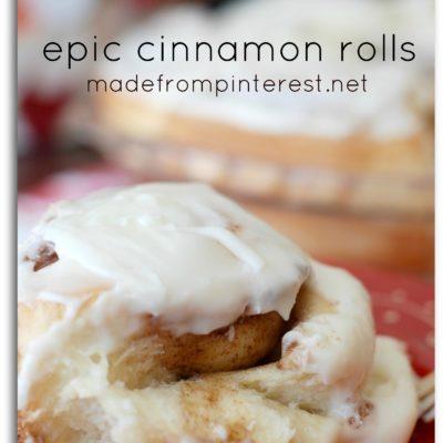 Epic Cinnamon Rolls