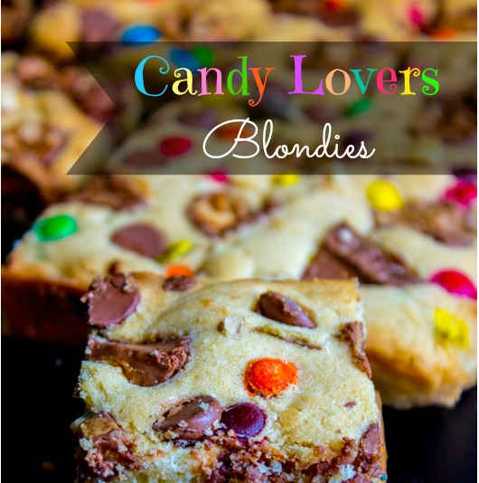 Candy Lover's Blondies