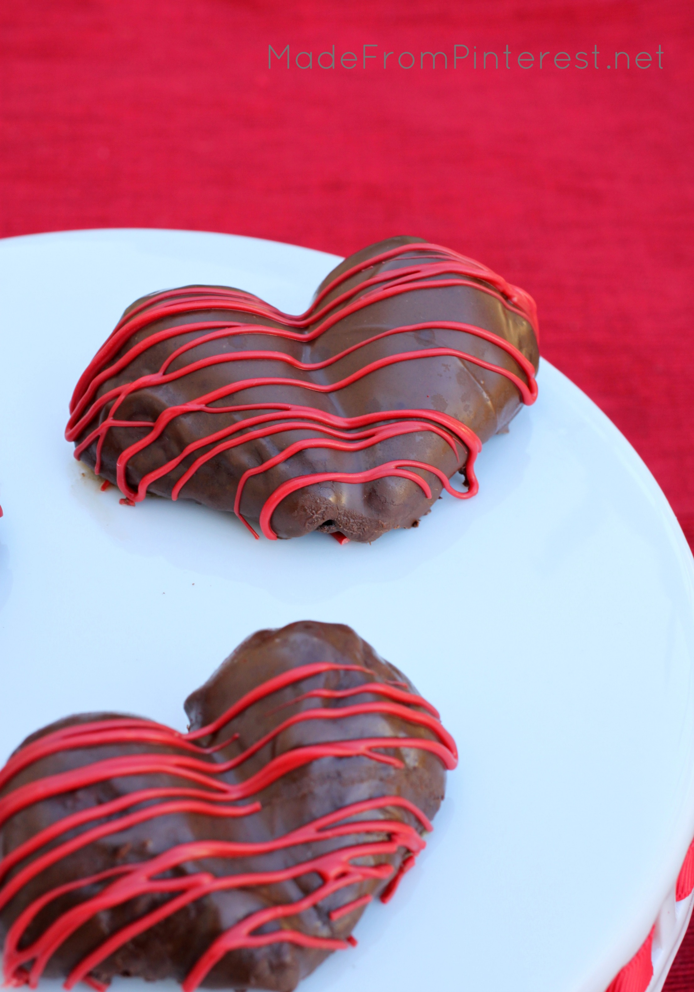 Heart Shaped Chocolate Strawberries Made From Pinterest