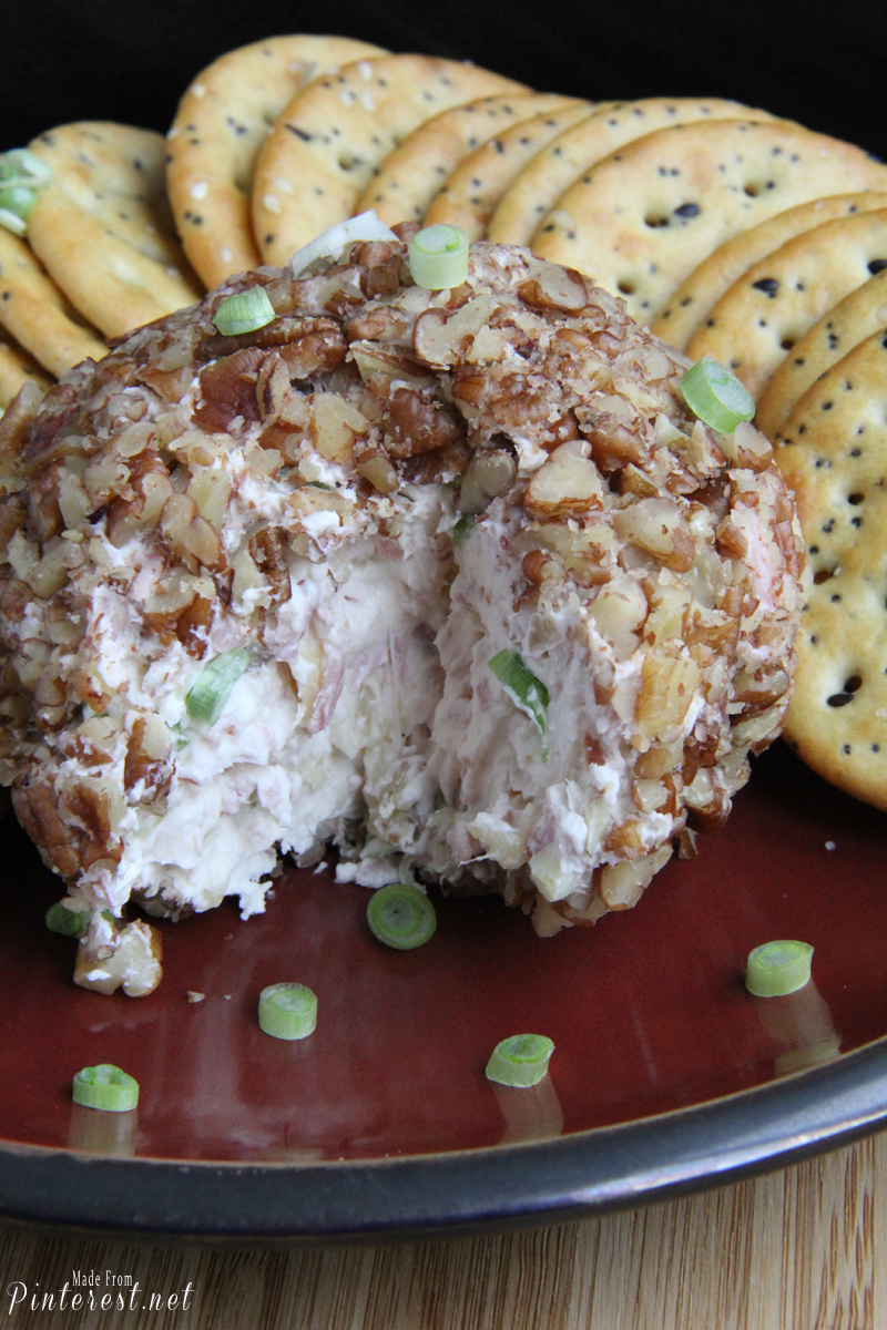 Pineapple and Ham Cheese Ball Appetizer - TGIF - This ...