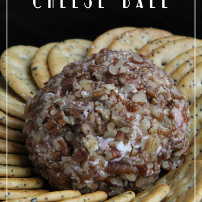 Pineapple and Ham Cheese Ball Appetizer