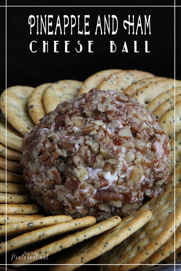 cheese ball recipe with ham