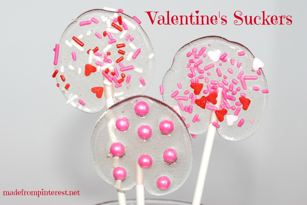 Valentine Suckers for your sweethearts!