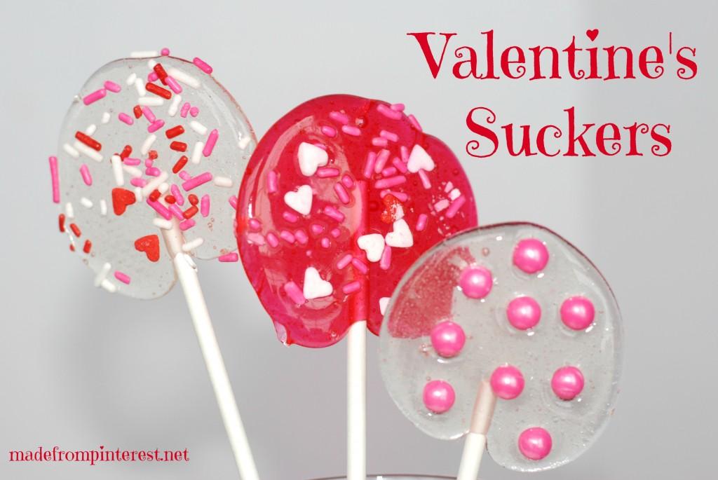Valentine Suckers. Spread the love!