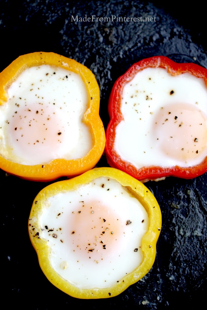 Bell Pepper Sautéed Eggs - These eggs have a silky texture.