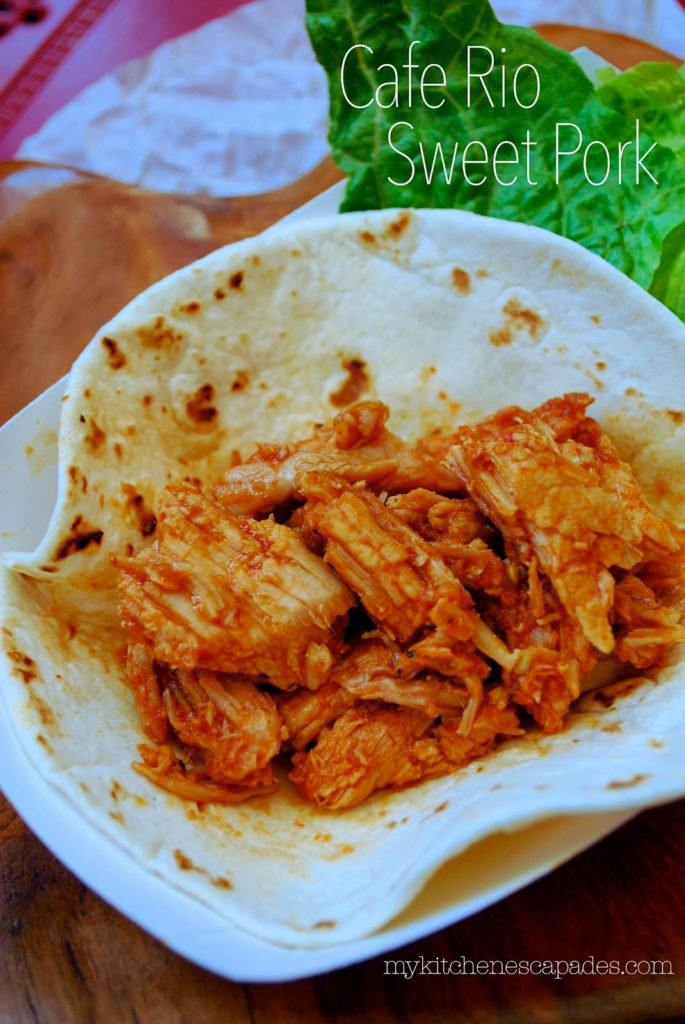 Cafe Rio Sweet Pork Copycat Recipe