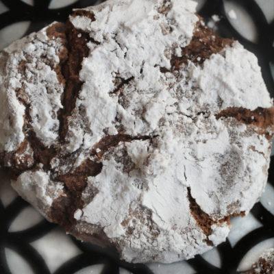 Chocolate Crinkle Cookies Gluten Free
