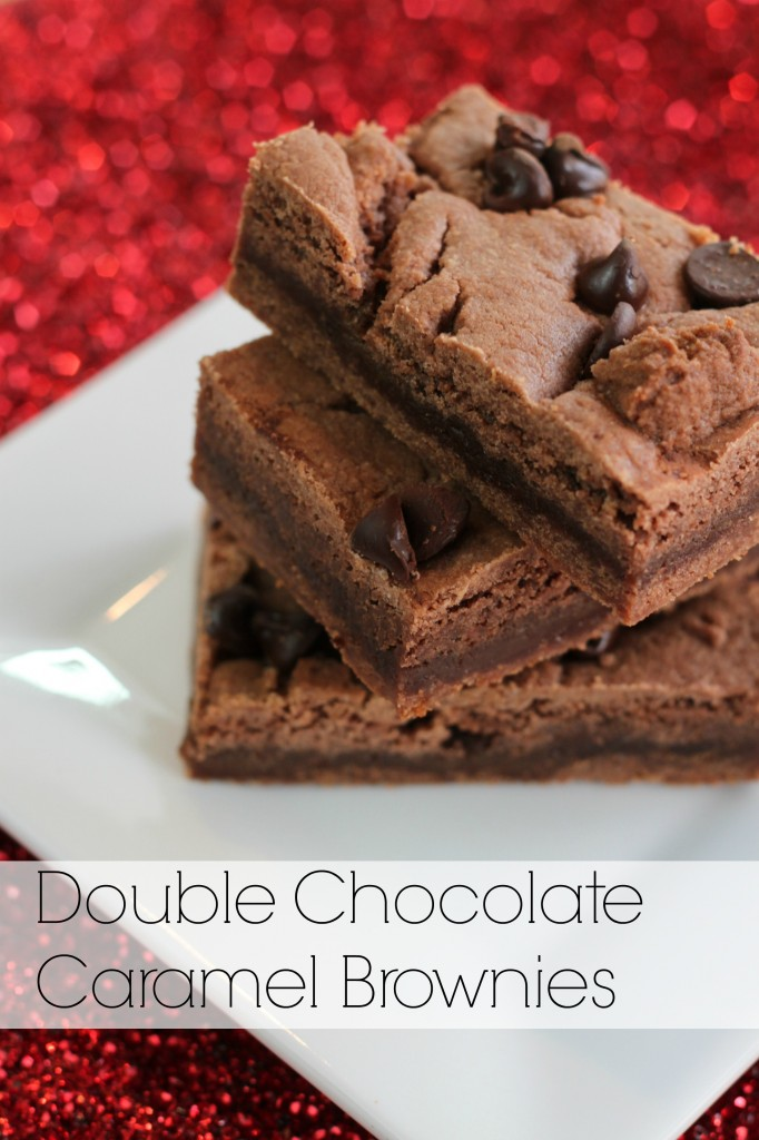 Keep It Simple Sweetie chocolate caramel brownies