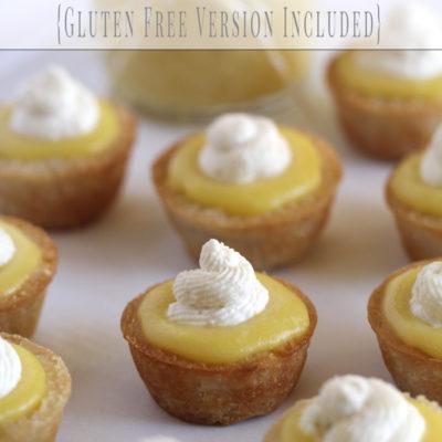 Lemon Curd Tarts – Never Fail