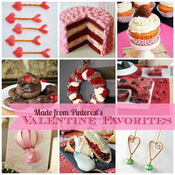 Made From Pinterest Valentine Favorites