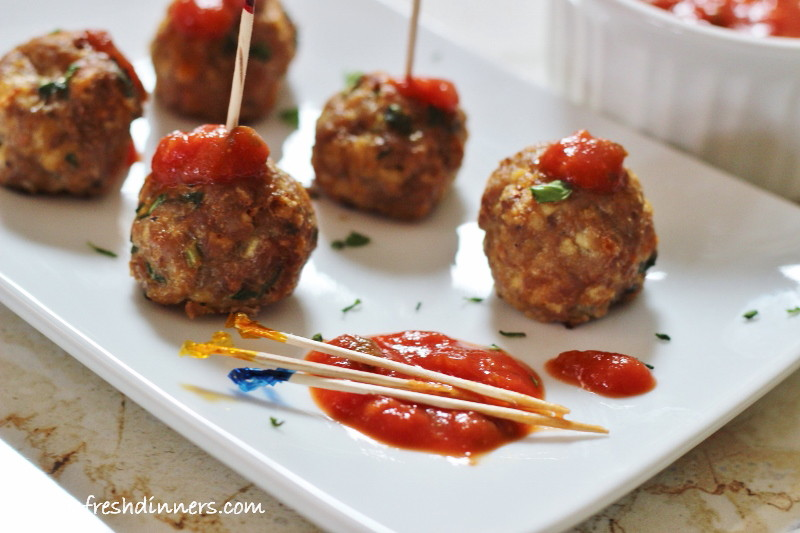 Turkey-Veggie-Meatballs