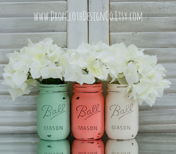 pastel-painted-mason-jars
