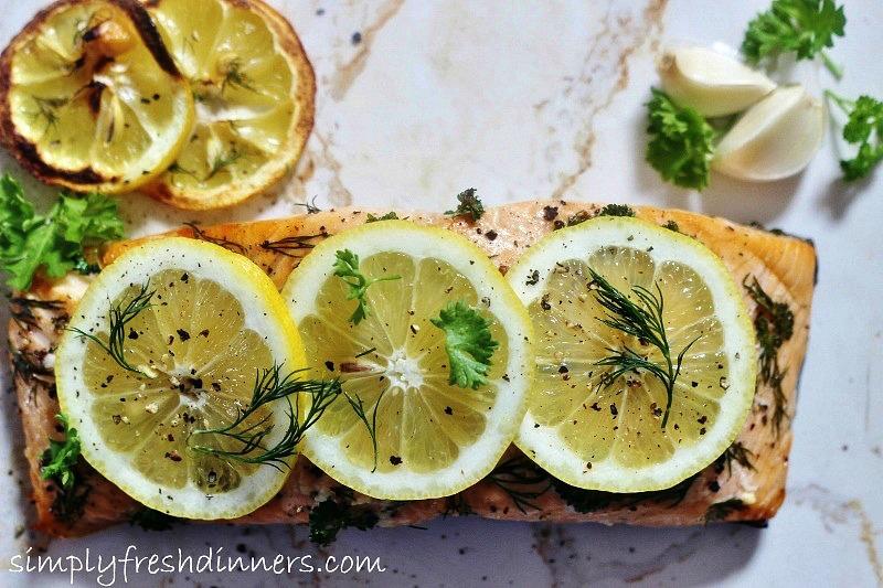Baked-Salmon-Lemon-Parsley