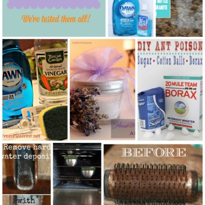 Best Cleaning Tips on Pinterest