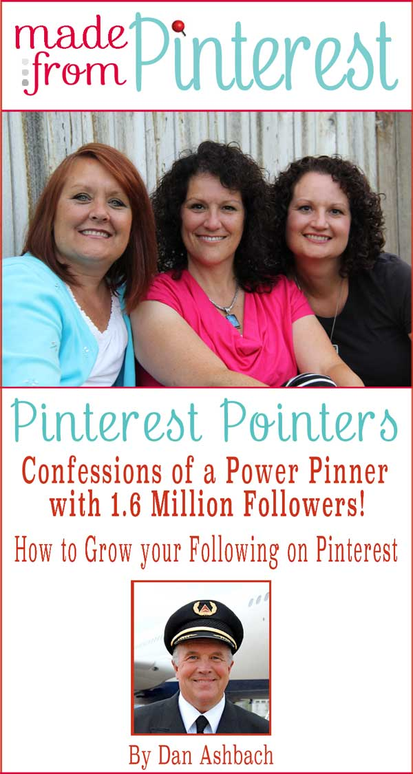 Pinterest Power Pinner Dan Ashbach. #Madefrompinterest.net #Pinterest #Pinterest Pointers