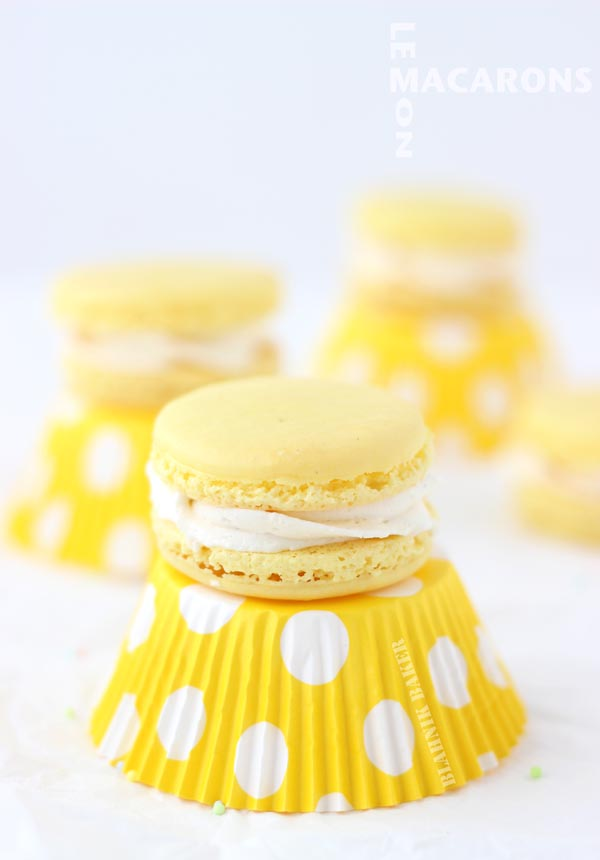 Lemon-Macaroons