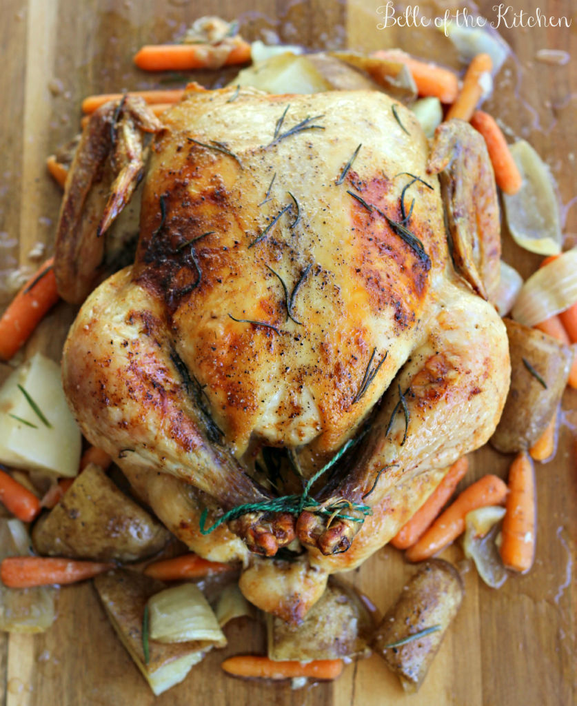 Rosemary-Roasted-Chicken