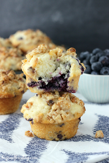 blueberry-coconut-muffins
