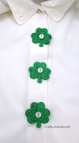 glitter-shamrock-button-covers-row