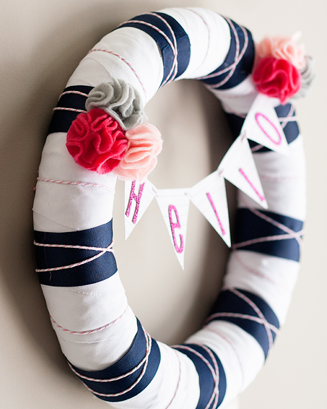 Hello-spring-wreath