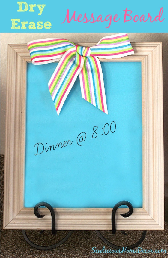 DIY-Dry-Erase-Message-Board