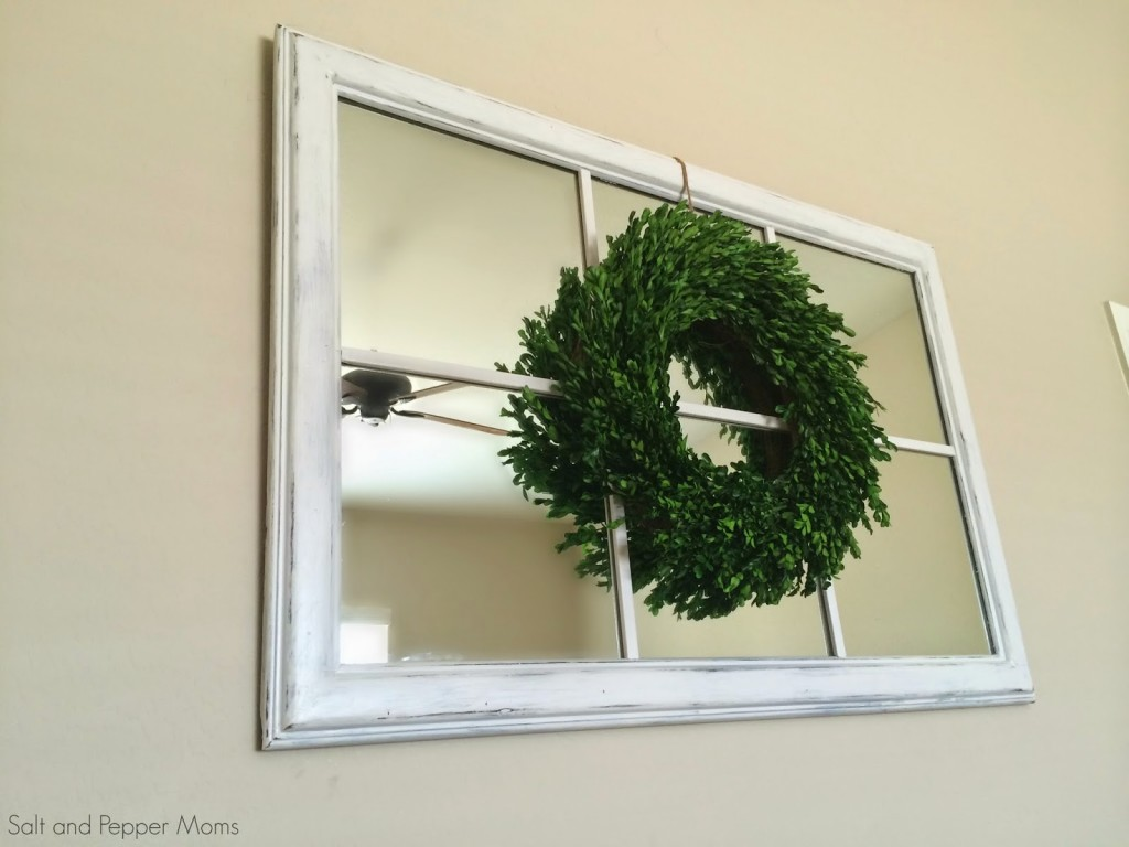 DIY Mirror Window