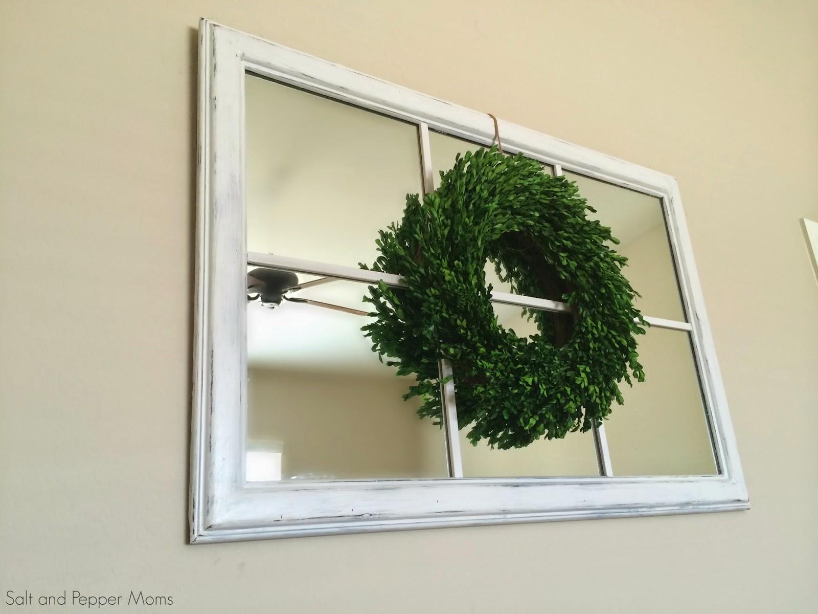 DIY Mirror Window